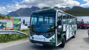 electric minibus