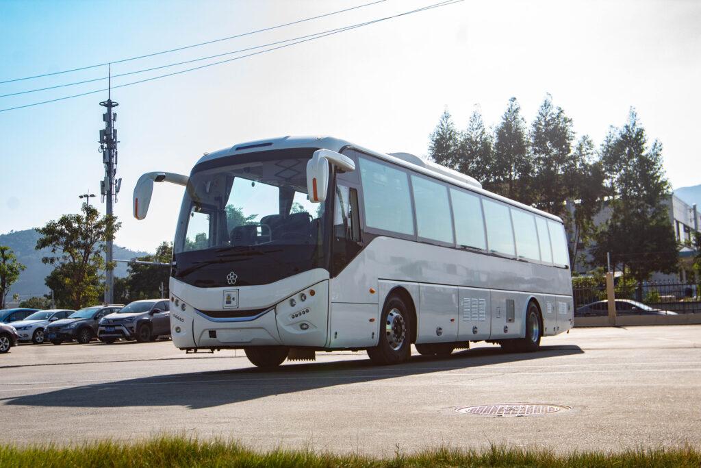 electric tour coach